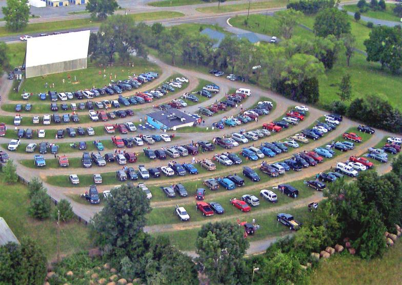 Hull's Drive-In Theatre Now. (Photo courtesy of Mr. John Scott)